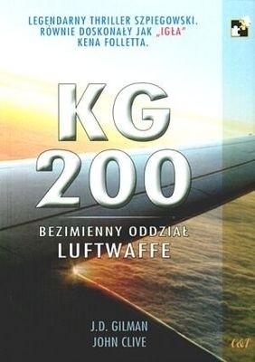 Okładka książki KG 200 Bezimienny oddział Luftwaffe