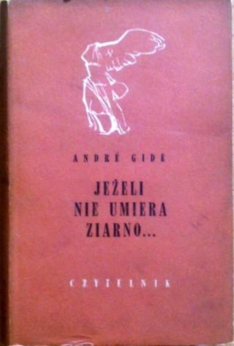 Okładka książki Jeżeli nie umiera ziarno...