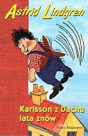 Okładka książki Karlsson z Dachu lata znów