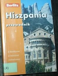Okładka książki Hiszpania: z Berlitzem w kieszeni zwiedzamy świat