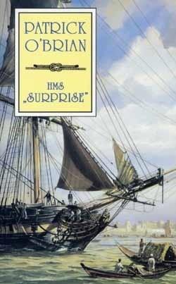 "Okładka książki HMS ""Surprise"""