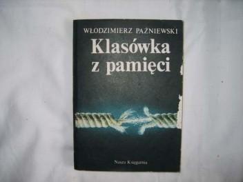 Okładka książki Klasówka z pamięci