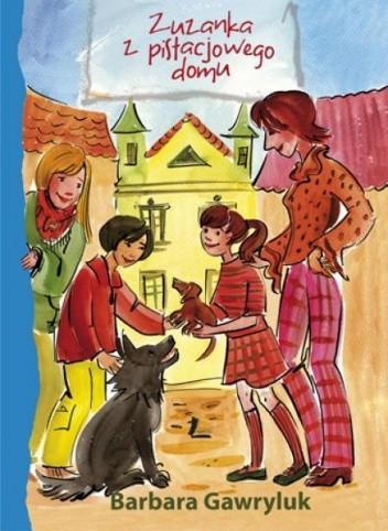 Okładka książki Zuzanka z pistacjowego domu