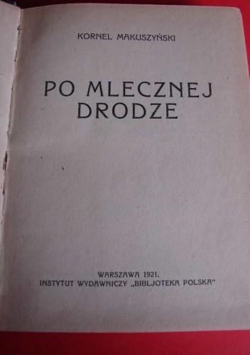 Okładka książki Po mlecznej drodze