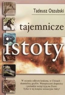 Okładka książki Tajemnicze istoty