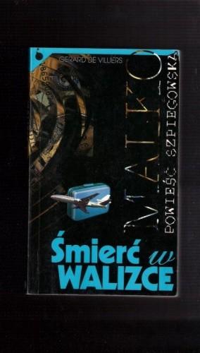 Okładka książki Śmierć w walizce