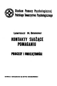 Okładka książki Kontakty służące pomaganiu : procesy i umiejętności