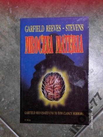 Okładka książki Mroczna materia