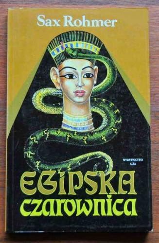 Okładka książki Egipska czarownica