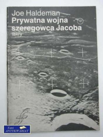 Okładka książki Prywatna wojna szeregowca Jacoba