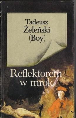 Okładka książki Reflektorem w mrok