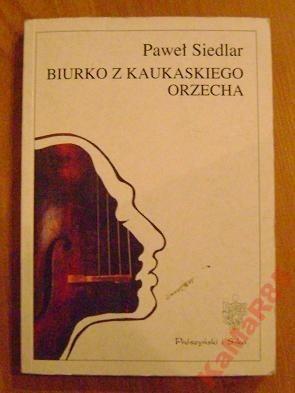 Okładka książki Biurko z kaukaskiego orzecha