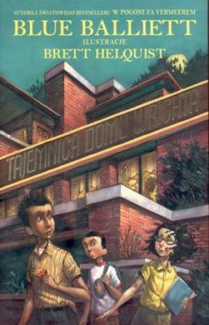 Okładka książki Tajemnica domu Wrighta