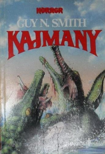 Okładka książki Kajmany