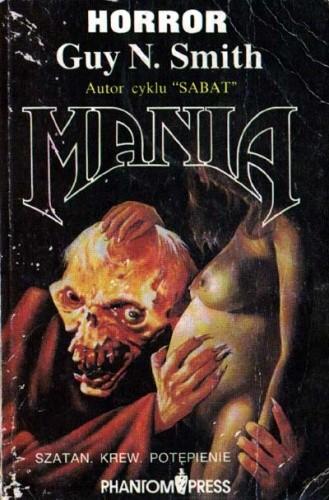 Okładka książki Mania