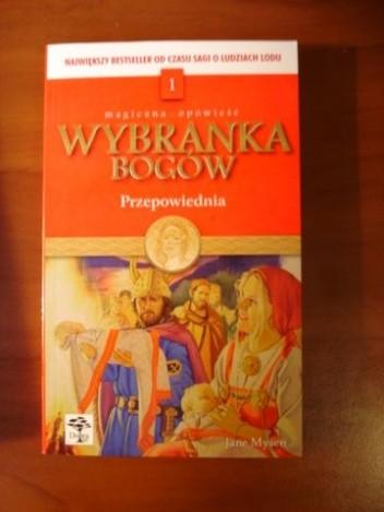 Okładka książki Wybranka bogów. Przepowiednia