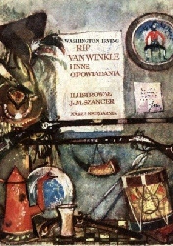 Okładka książki Rip Van Winkle i inne opowiadania