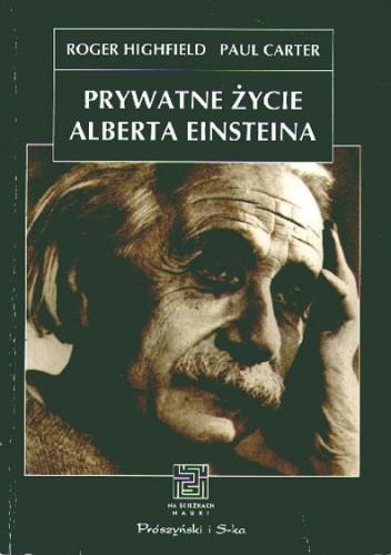 Okładka książki Prywatne życie Alberta Einsteina