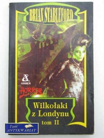 Okładka książki Wilkołaki z Londynu
