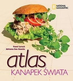 Okładka książki Atlas kanapek świata