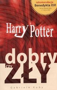 Okładka książki Harry Potter - dobry czy zły?