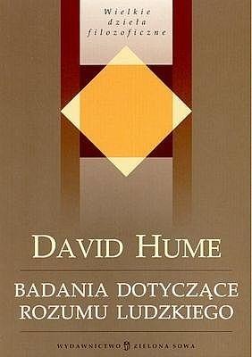 Okładka książki Badania dotyczące rozumu ludzkiego