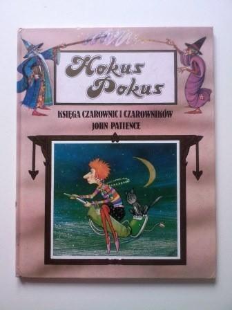 Okładka książki Hokus-pokus: księga czarownic i czarowników