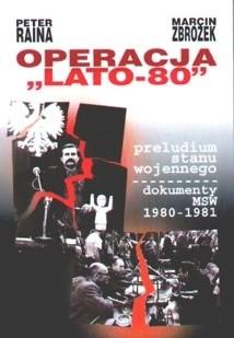 Okładka książki Operacja Lato-80
