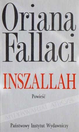 Okładka książki Inszallah