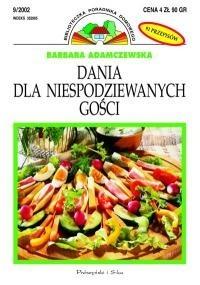 Okładka książki Dania dla niespodziewanych gości