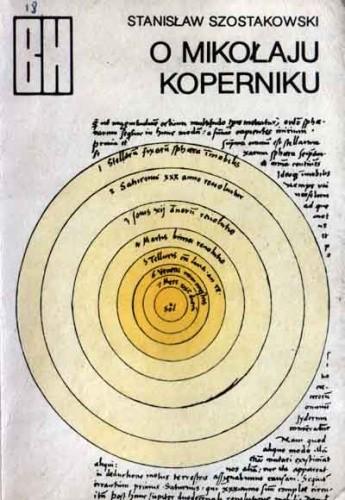 Okładka książki O Mikołaju Koperniku