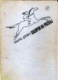 Okładka książki Galopem na przełaj