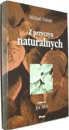 Okładka książki Z przyczyn naturalnych