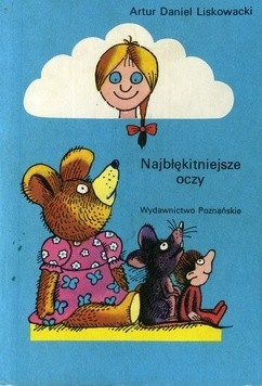 Okładka książki Najbłękitniejsze oczy