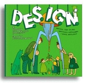 Okładka książki D.E.S.I.G.N. Domowy Elementarz Sprzętów i Gratów Niecodziennych