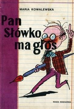 Okładka książki Pan Słówko ma głos