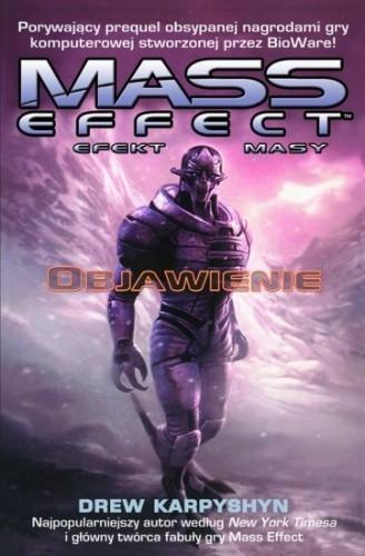 Okładka książki Mass Effect: Objawienie