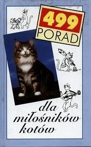 Okładka książki 499 porad dla miłośników kotów