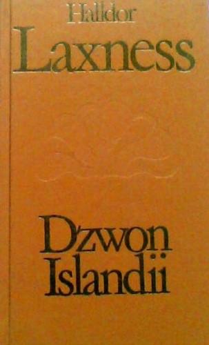 Okładka książki Dzwon Islandii