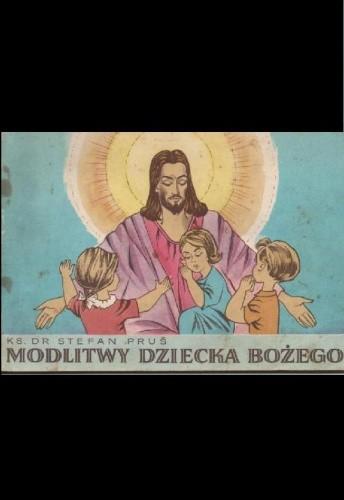 Okładka książki Modlitwy dziecka bożego