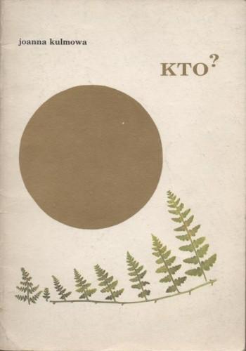 Okładka książki Kto?