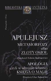 Okładka książki Metamorfozy albo złoty osioł