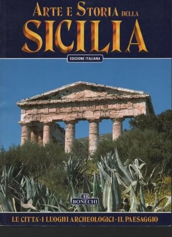 Okładka książki Arte e storia della Sicilia