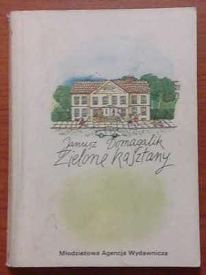 Okładka książki Zielone kasztany