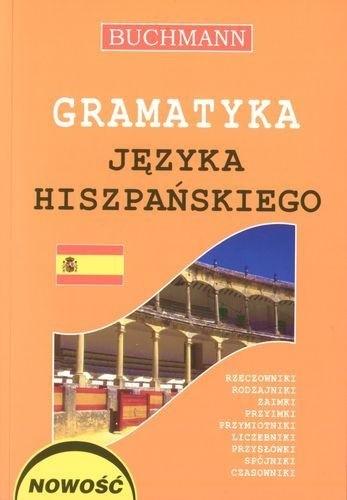 Okładka książki Gramatyka języka hiszpańskiego