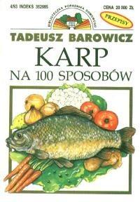 Okładka książki Karp na 100 sposobów