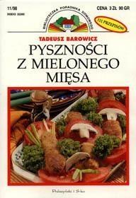 Okładka książki Pyszności z mielonego mięsa