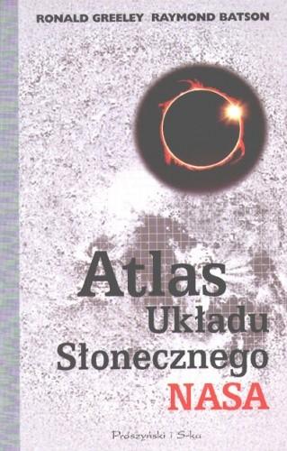 Okładka książki Atlas Układu Słonecznego NASA