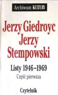 Okładka książki Listy 1946-1969. Cz. 1