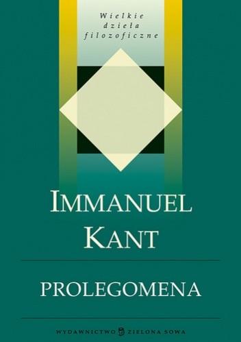Okładka książki Prolegomena